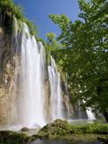 Veliki Prstavac Falls  Plitvice Lakes National Park (Plitvicka Jezera)  Lika-Senj County  Croatia