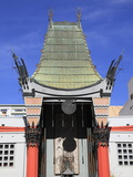 Grauman's Chinese Movie Theater  Hollywood Boulevard  Hollywood  Los Angeles  California