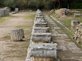 The Ancient Town of Olympia  UNESCO World Heritage Site  Peloponnese  Greece  Europe