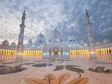 Sheikh Zayed Bin Sultan Al Nahyan Mosque  Abu Dhabi  United Arab Emirates  Middle East