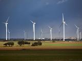 Wind Turbines  Albacete  Castilla-La Mancha  Spain  Europe