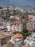 Santa Prisca Church  Plaza Borda  Taxco  Guerrero State  Mexico  North America