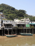 Stilt Houses  Fishing Village of Tai O  Lantau Island  Hong Kong  China  Asia