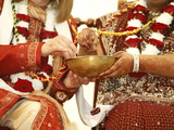 Hindu Wedding at Bhaktivedanta Manor  Watford  Hertfordshire  England  United Kingdom  Europe