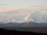 Mount Foraker in the Fall  Denali National Park and Preserve  Alaska  USA