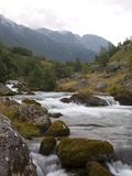 Trek to Folgefonna Glacier  Folgefonna National Park  Roseland  Hordaland  Norway  Scandinavia