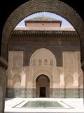 Medersa Ben Youssef  Marrakech  Morocco  North Africa  Africa