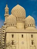 Abu El-Abbas Mosque  Alexandria  Egypt  North Africa  Africa