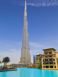 Burj Khalifa  the Tallest Man Made Structure in the World at 828 Metres  Downtown Dubai  Dubai  Uae
