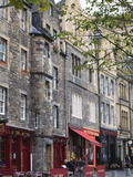 Grassmarket  the Old Town  Edinburgh  Scotland  Uk