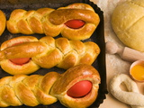 Titole  Sweet Bread With Egg  An Italian Dish For Easter Day  Friuli-Venezia Giulia  Italy  Europe