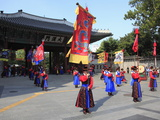 Changing of the Guards  Deoksugung Palace (Palace of Virtuous Longevity)  Seoul  South Korea  Asia