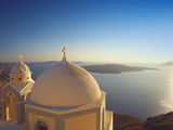 Church at Sunset  Santorini  Cyclades  Greek Islands  Greece  Europe