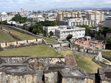 San Cristobal Castle  Former Spanish Fortress  San Juan  Puerto Rico  West Indies  Caribbean