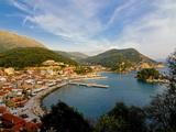 Habor of Parga  Mainland Greece  Greece  Europe
