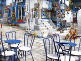 Cafe and Souvenir Shop  Sidi Bou Said  Tunisia  North Africa  Africa