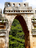 Gateway Arch  Mayan Ruins  Labna  Yucatan  Mexico  North America