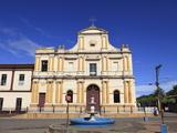 Iglesia San Sebastian  Monimbo Barrio  Masaya  Nicaragua  Central America