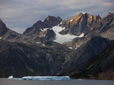 Ice and Mountains  Prince Christian Sund  Greenland  Arctic  Polar Regions