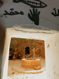 View of Well From Inside Berber Underground Dwellings  Matmata  Tunisia