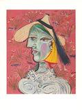Marie-Therese mit Strohhut  c1938