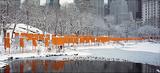 The Gates Skyline im Schneeer Druck
