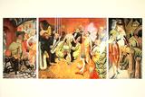 Grossstadt (Triptychon)  c1927-28
