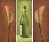 Calla/Weinflasche/Calla
