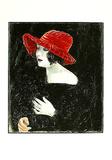 Bildnis Frau Martha Dix  c1923