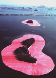 Surrounded Islands, Biscayne Bay, Miami Reproduction d'art par Christo