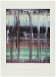 Abstraktes Bild 753-9, C.1992 art abstrait affiche tableaux par Gerhard Richter