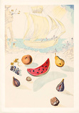02A Ship and Fruits