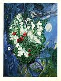 Liebespaar & Blumen  Prägesig