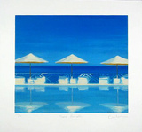 Three Parasols  c2001