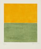 Ohne Titel Orange/Grün  c2001