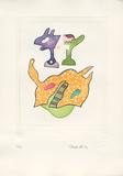 Fantasiewesen Schwebendes Pferd B  c1974