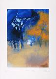 Bäume Blau  c2001