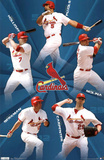 St Louis Cardinals 2011 Holliday Pujols Molina Carpenter Berkman