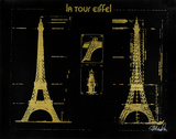 Eiffel Tower (Gold)