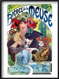 Beer Ad By Mucha  C1897