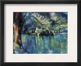 Cezanne: Annecy Lake  1896