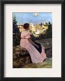 Bazille: Pink Dress  1864