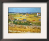 Van Gogh: Wheatfield  1888