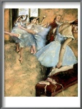 Degas: Ballet Class  C1880