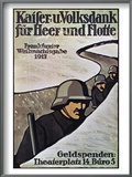 Wwi: German Poster  1917