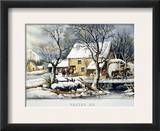 Currier &amp; Ives Winter Scene
