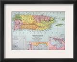 Map: Puerto Rico  1900
