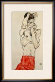 Standing Male Nude with Red Loincloth  1914