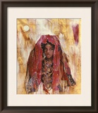 Untitled African Red Wrap