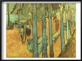 Van Gogh: Alyscamps  1888